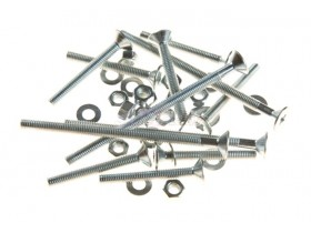 SET (M/L) SCREWS AND NUTS